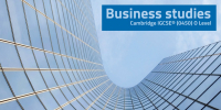 Business studies IGCSE (0450 - 4BS1) O Level course